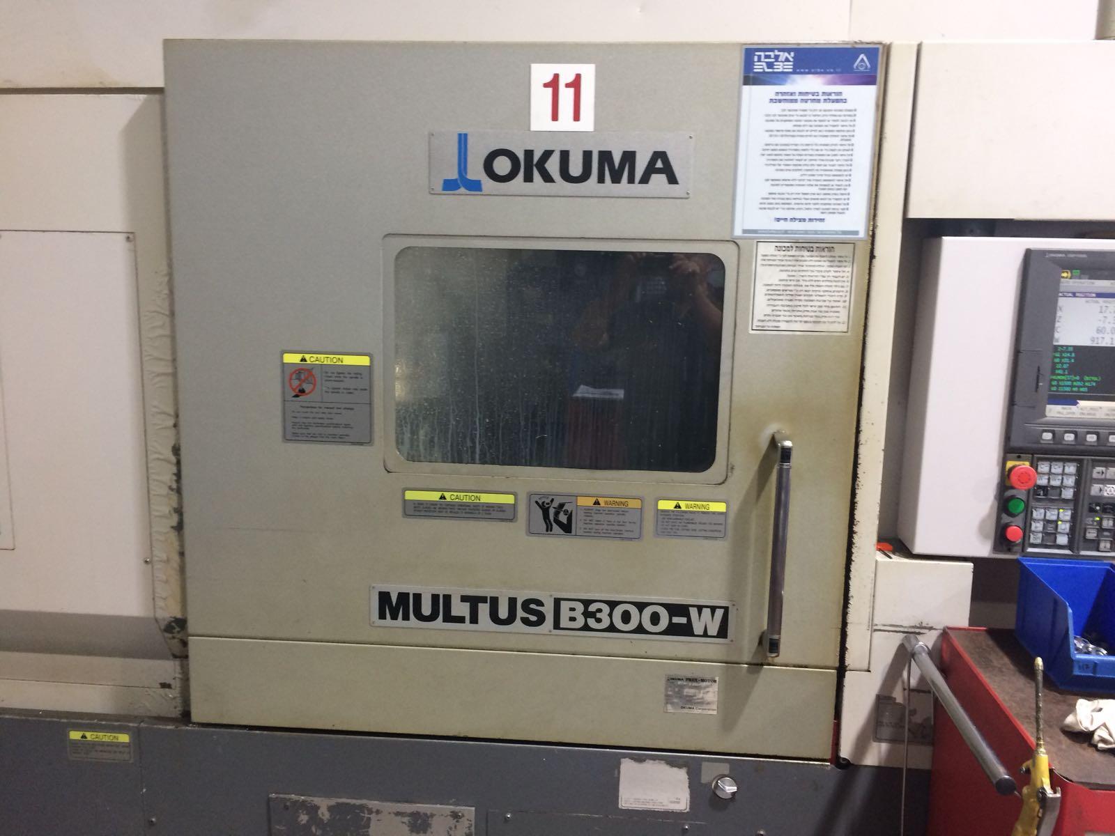 OKUMA – MULTUS B300-W 2009